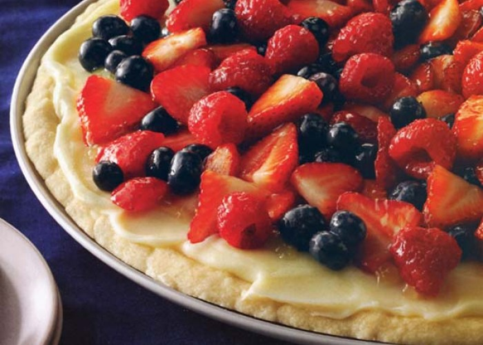 Vanilla Cream Fruit Tart