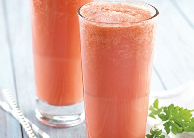 Two-Ingredient Watermelon Creamsicle Smoothie