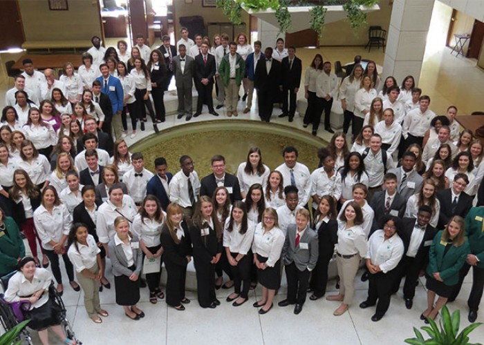 NC 4-H'ers Focus on Citizenship at Leadership Conference