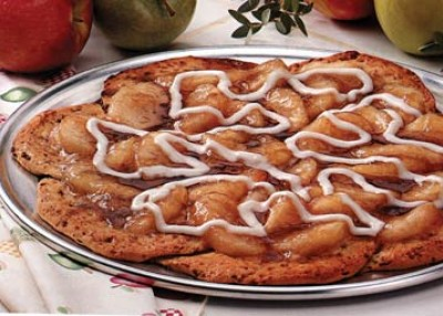 Cinnamon Apple Pizza