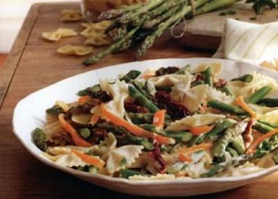 Asparagus Bow-Tie Pasta