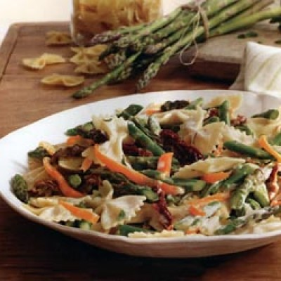 Asparagus bow tie pasta carolina country - Italian garden boiling springs nc ...