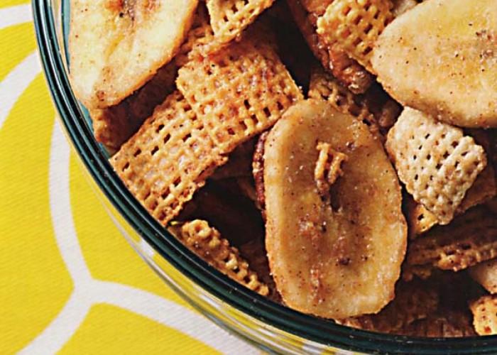 Bananas Foster Crunch Mix