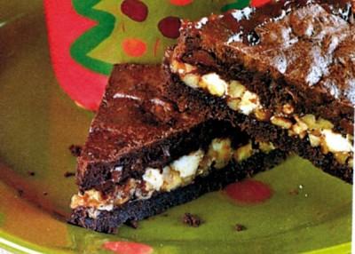 Luscious Layered Brownies