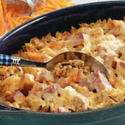 Chicken Ham Casserole
