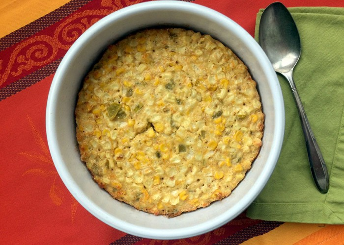 Cheesy Corn Pudding