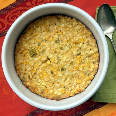 Cheesy Corn Pudding
