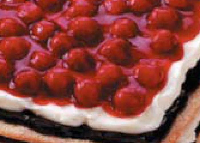 Chocolate Cherry Heart