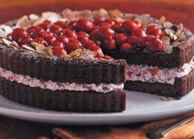 Cherry Cordial Torte