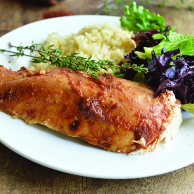 Apple Butter Roast Chicken
