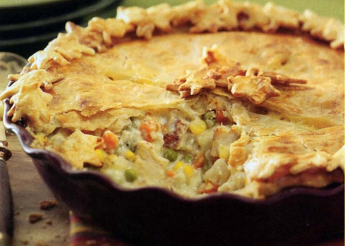 Golden Chicken Potpies