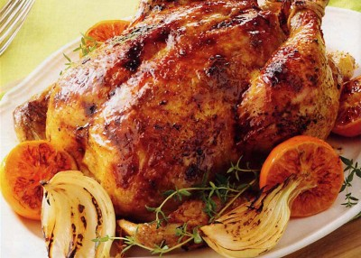 Citrus Spiced Roast Chicken
