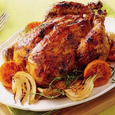 Citrus Spiced Roast Chicken