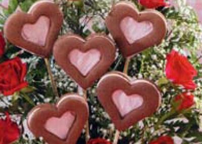 Valentine Cookie Bouquet