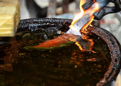 Forging Artful Tools from Old Iron