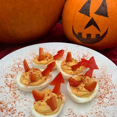 'Deviled' Eggs