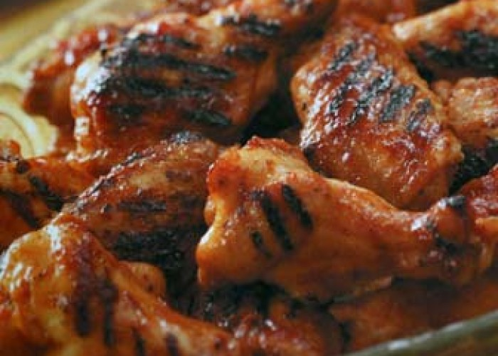 Grilled Glazed Drummies