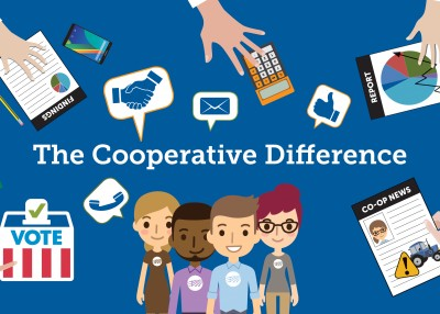 The Cooperative Difference at Work