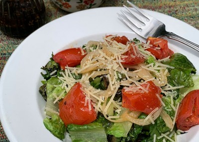 Grilled Romaine Toss
