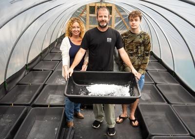 Harvesting Pure, Local Sea Salt