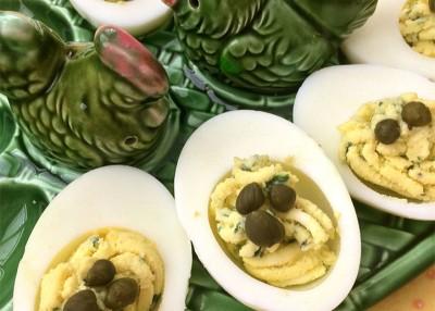 Fresh Herb Deviled Eggs