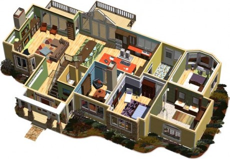 Software Can Assist Your Home Improvement Planning. Use Home Designer Suite  2012 ...