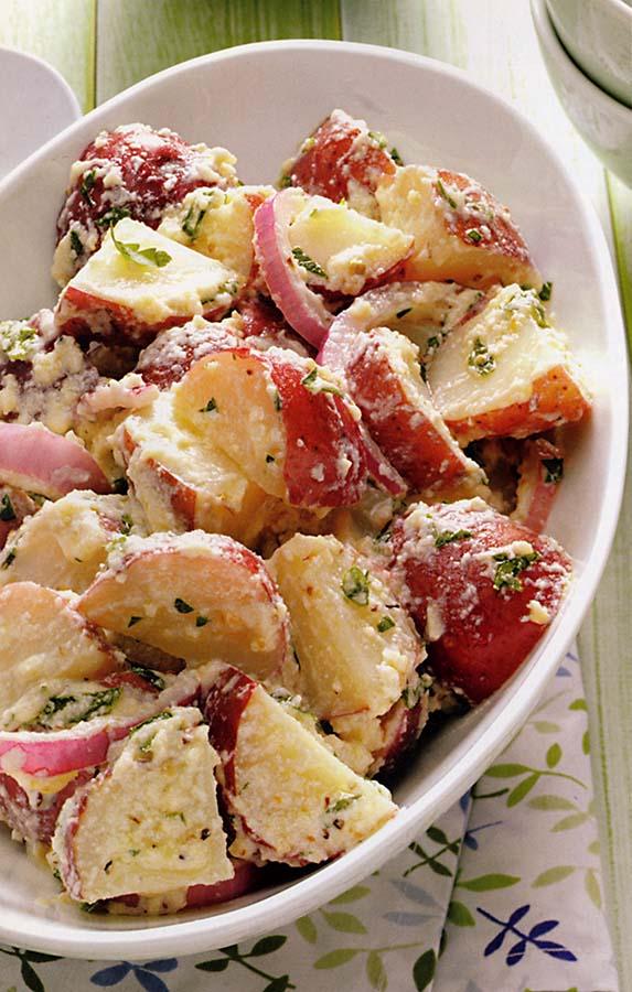 Creamy italian potato salad carolina country - Italian garden boiling springs nc ...