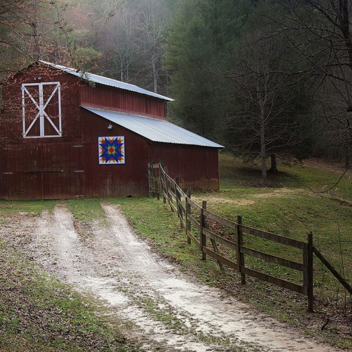 This barn is about a half mile from my home. One morning while walking my dog, I saw it and the light was perfect! I ran and grabbed my camera. There is never a shortage of beauty in Western North Carolina! —Jacki Bruder, Murphy