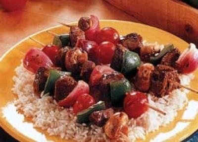 Teriyaki Beef Kabobs
