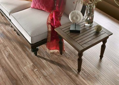 Laminate is tough flooring for tough times