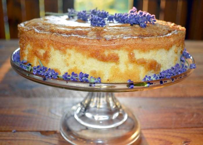 Naked Lavender Cake Recipe