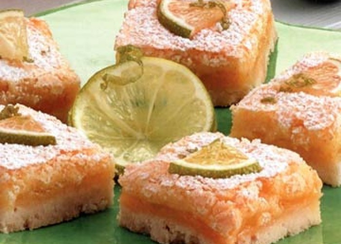 Lime Cooler Bars