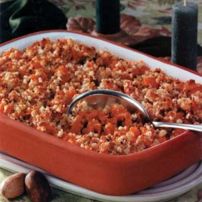 Macaroon Sweet Potato Bake