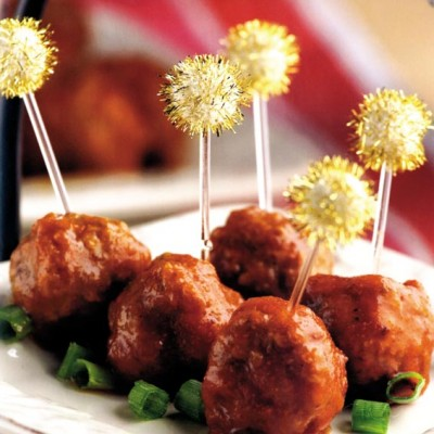 Italian Scallion Meatballs