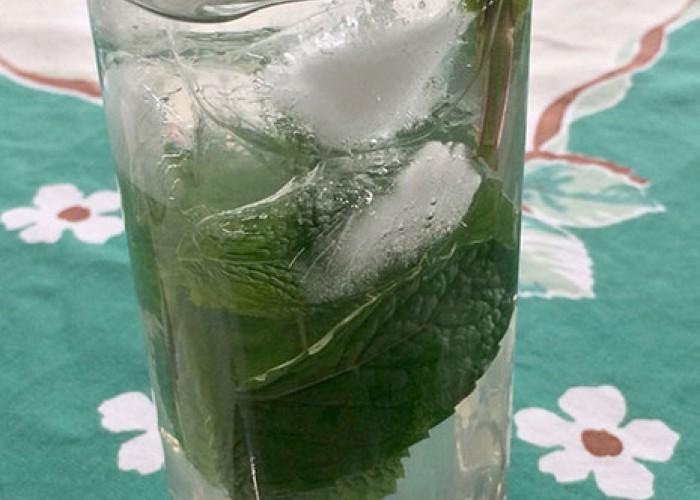 Mint-Lemongrass Cooler