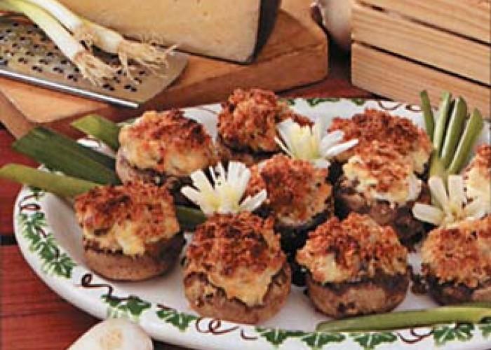 Artichoke Mushroom Caps