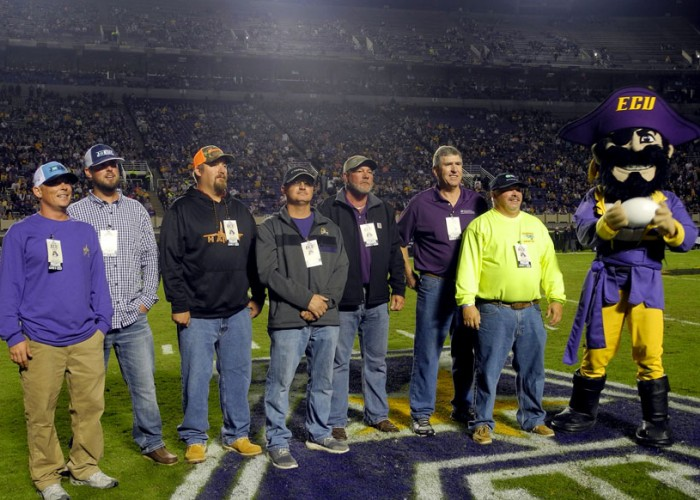 Hurricane Florence Recovery Highlighted at ECU Game