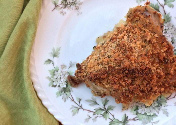 Crunchy Oven-Fried Chicken