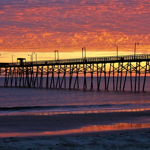 There's a moment between light and dark that can be so breathtaking it's hard to believe it happened. When I look back at this sunset on the Yaupon Pier, Oak Island, I am in awe. —Patricia Totero, Oak Island, a member of Brunswick Electric