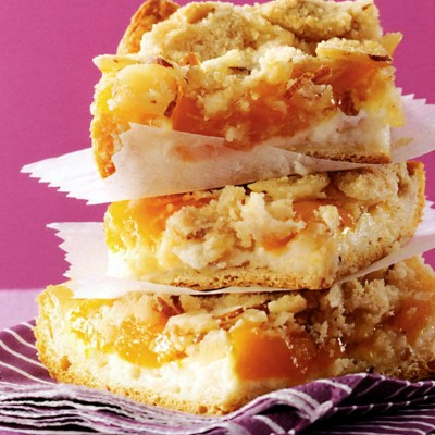 Peaches 'n' Cream Bars