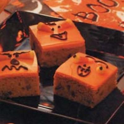 Halloween Pumpkin Bars