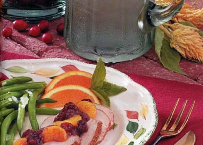 Cran-Orange Pork Tenderloin