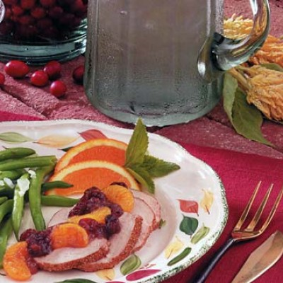 Cran-Orange Pork Tenderloin