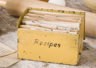Recipes for remembering