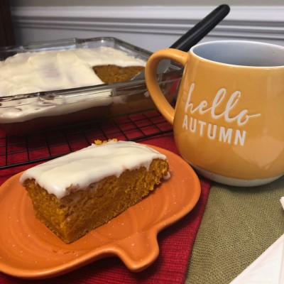Harvest Pumpkin Cake