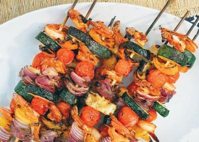 Easy Shrimp Skewers
