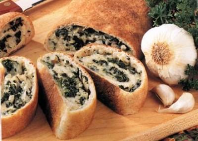 Spinach Cheese Swirls