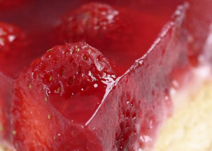 Strawberry Satin Pie