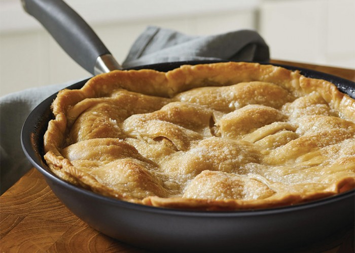 Stovetop Apple Pie