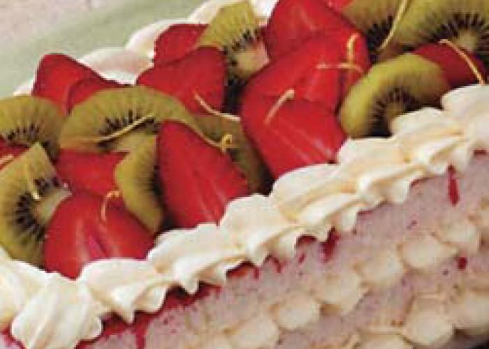 Strawberry Cheesecake Torte